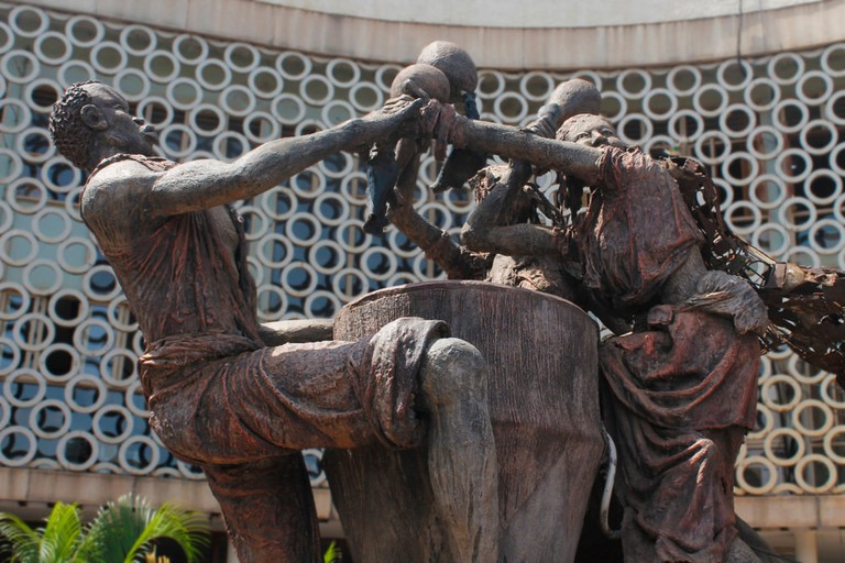 The National theater monument, Kampala, Uganda