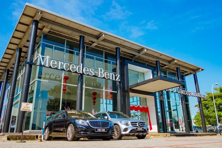 Mercedes-Benz Auto City, Penang, Malaysia.