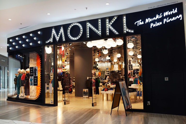 MONKL fashion store in Gurney Paragon, Penang.