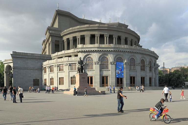 The Armenian National Academic Theatre of Opera and Ballet