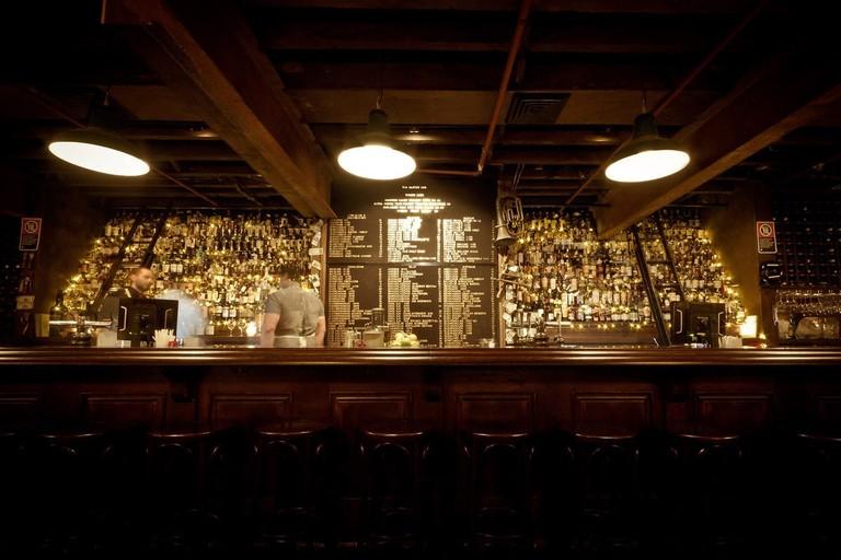 The Baxter Inn bar © The Baxter Inn
