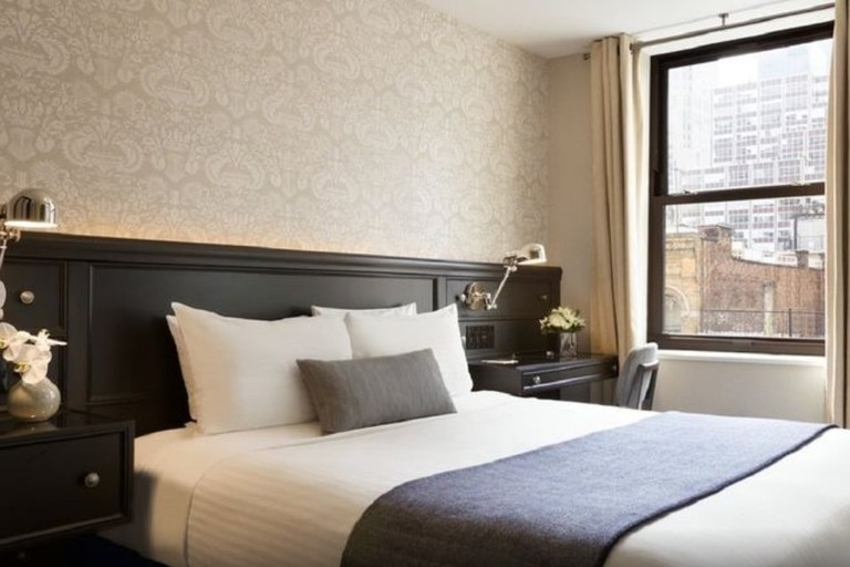 The Frederick Hotel attracts creative professionals to its Tribeca, Manhattan location.