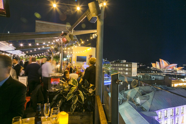 The view from the Glenmore rooftop © The Glenmore