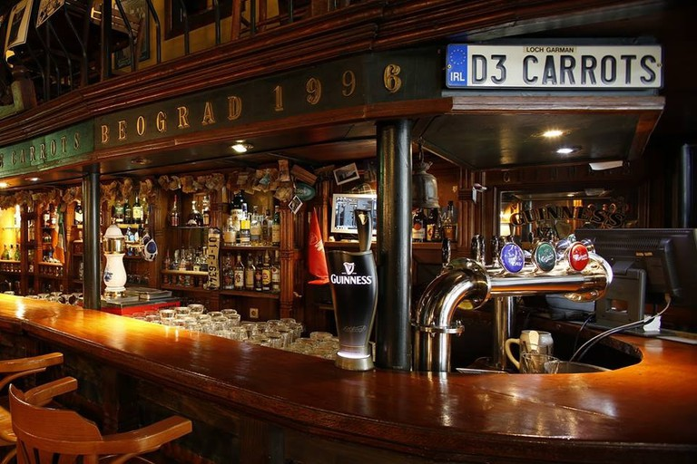 You know what to expect from Belgrade's finest Irish Pub