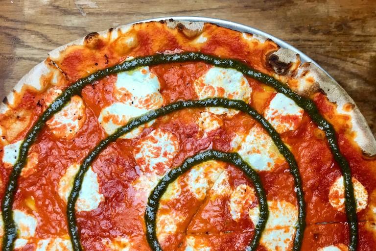 TIE DYE PIZZA