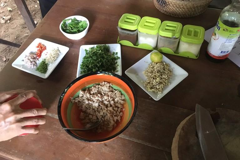 Tuk Tuk Safari Lao cooking class