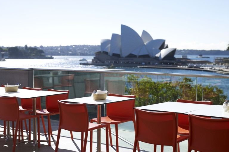 View of the Opera House from the MCA Cafe © Anna Kucera / MCA