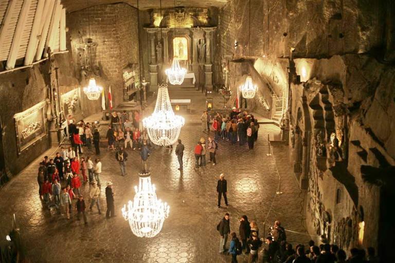 St. Kinga's Chapel, Wieliczka | © Cezary p / WikiCommons