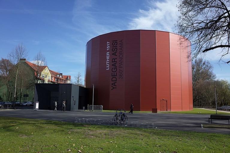 Wittenberg,Yadegar_Asisi,Luther_1517,360°Panorama