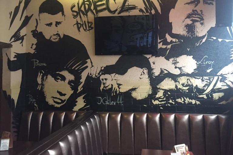 Wall Art in Pub Skrecz / Noran Pub, Zabrze | © Pub Skrecz / Noran Pub