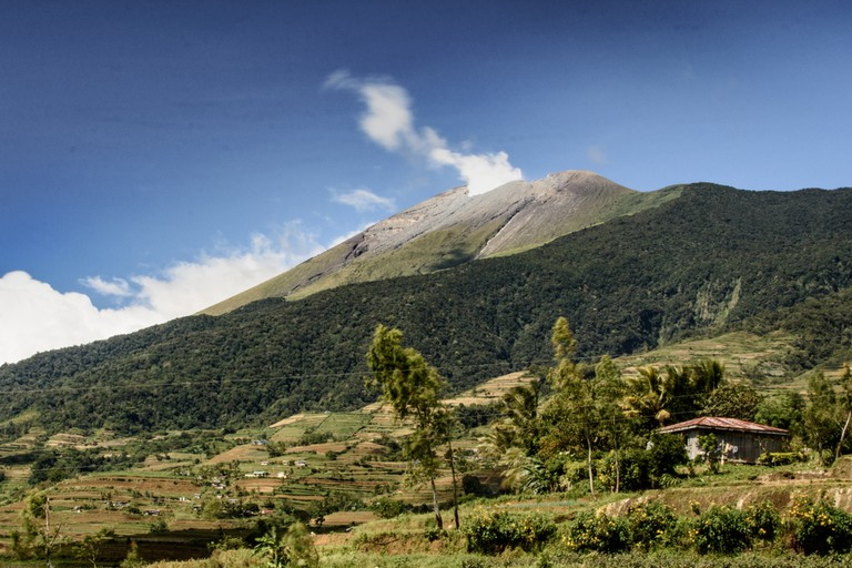 Mount Kanlaon Volcano
