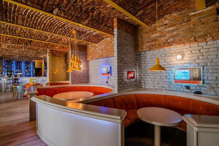 The Cosy Interior of Pub Śródmieście in Tarnów  © Pub Śródmieście
