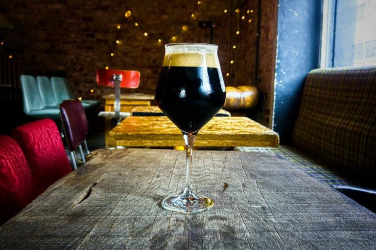 A dark beer at Lawendowa 3 | © Lawendowa 3