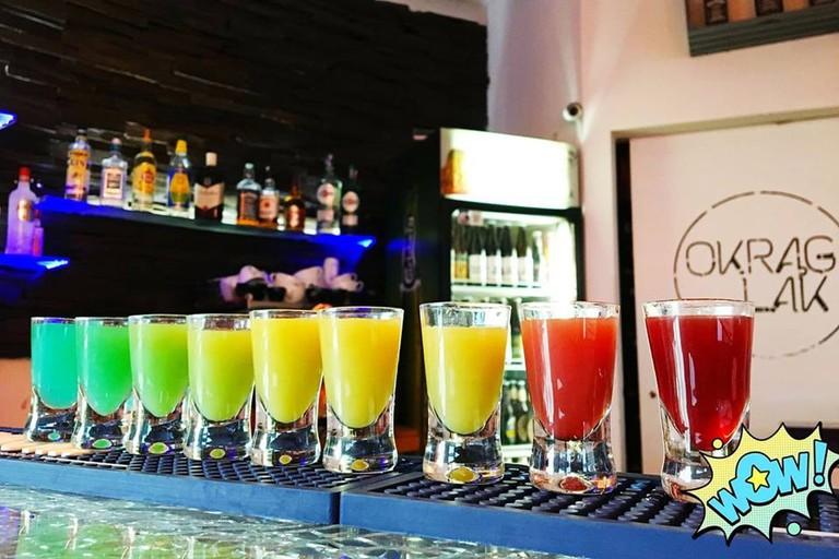 Shots at Resto Pub Okrąglak, Zabrze | © Resto Pub Okrąglak