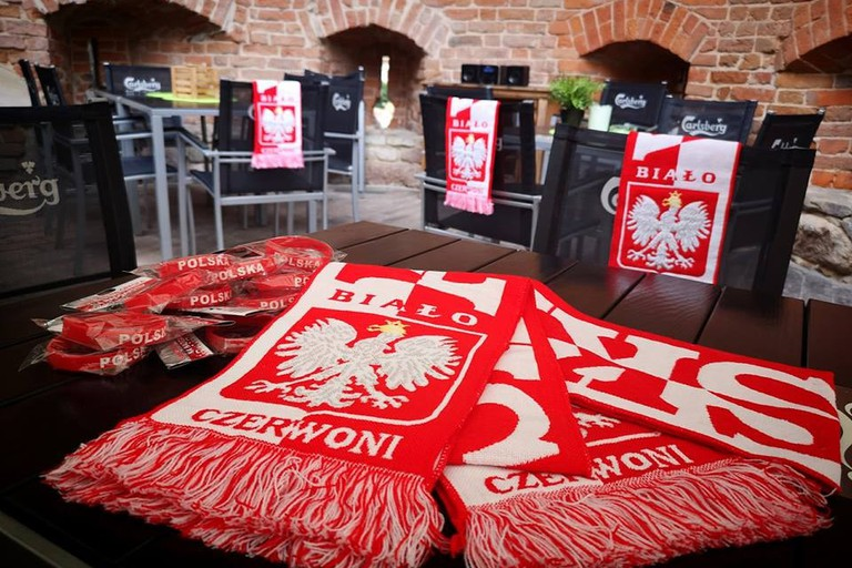 Poland Football Matches Are Shown At Pub Basteja | © Pub Basteja
