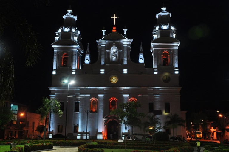 Se Cathedral at night, Belem