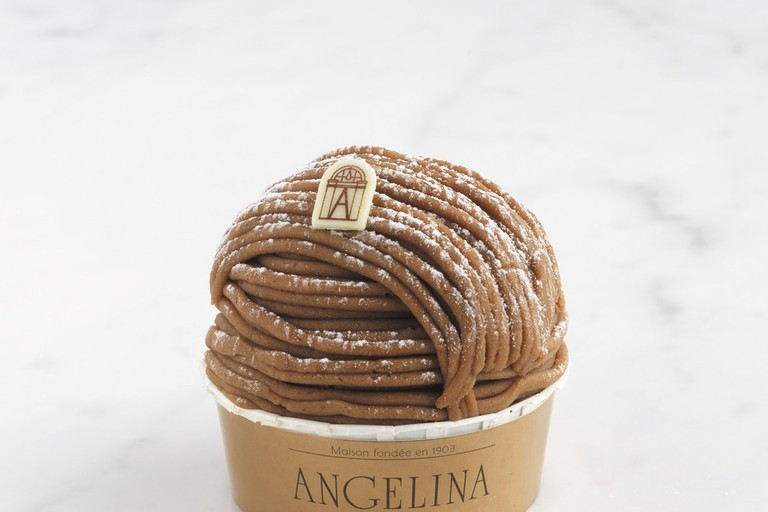 The Mont-Blanc, Angelina's signature pastry