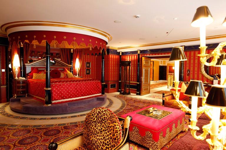 A suite at the Burj Al Arab, Dubai