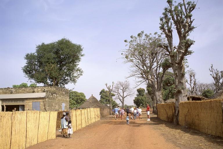 Local village, Saloum Delta National Park, Senegal.