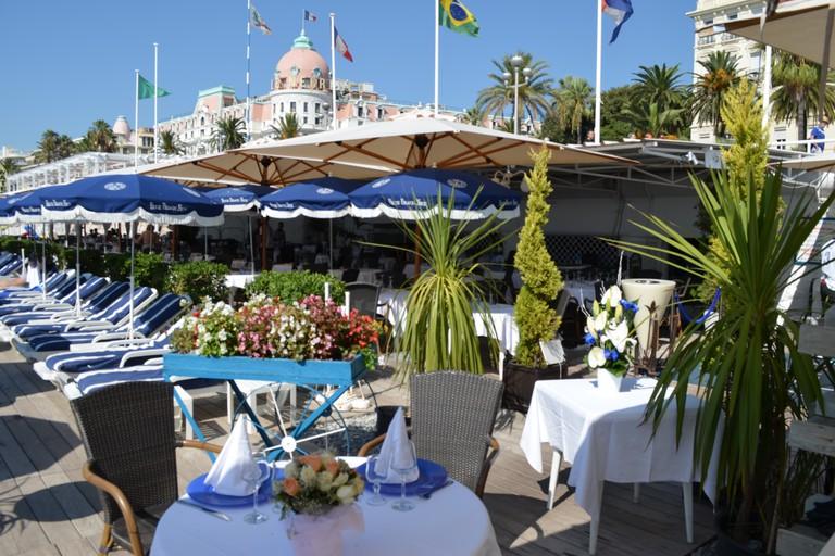 Blue Beach in Nice |© Courtesy of Blue Beach