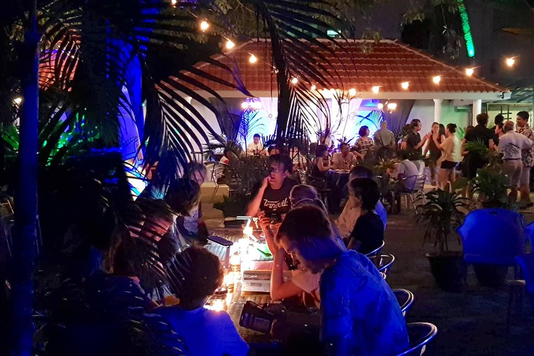 The cosy atmosphere at BoraBora Georgetown