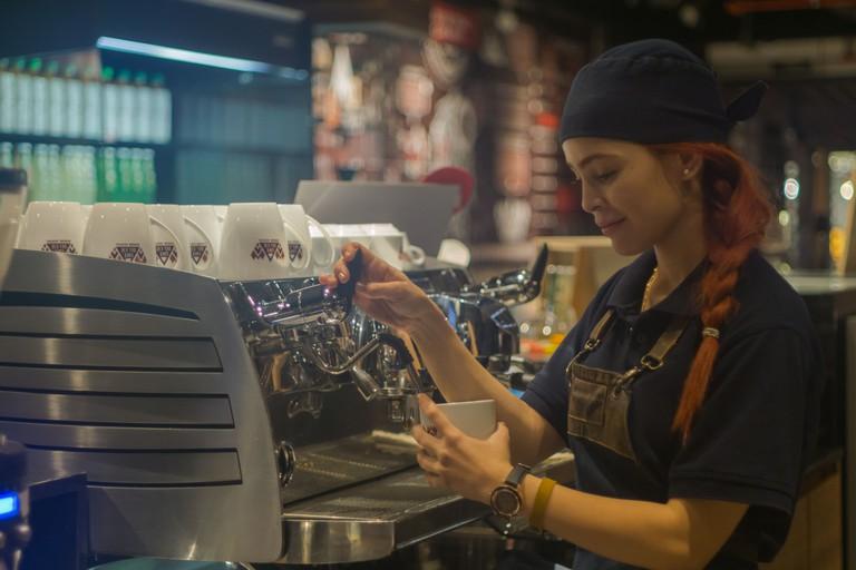 Cafe del Eje in Bogota, Colombia