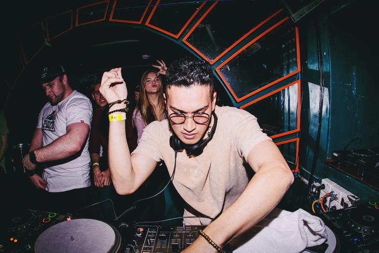 DJ at the World Bar © Jordan Munns / The World Bar