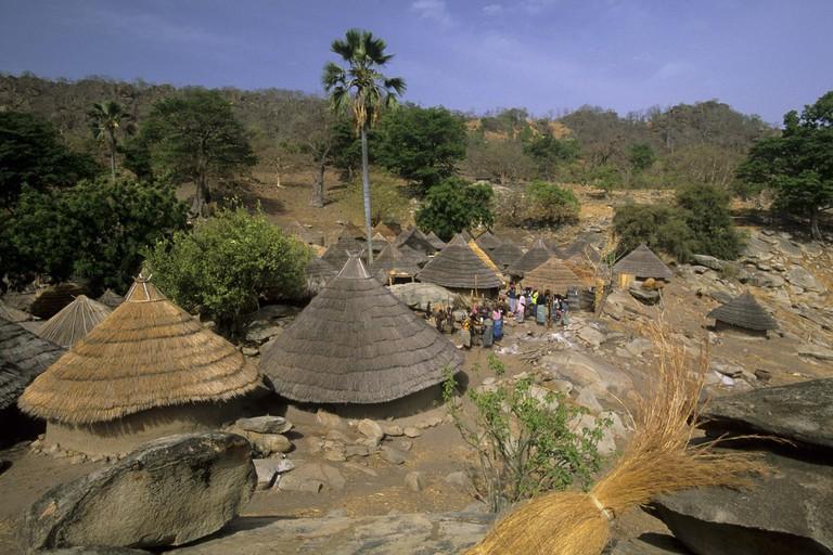 Village Bedik, Bassari country, Senegal, West Africa.