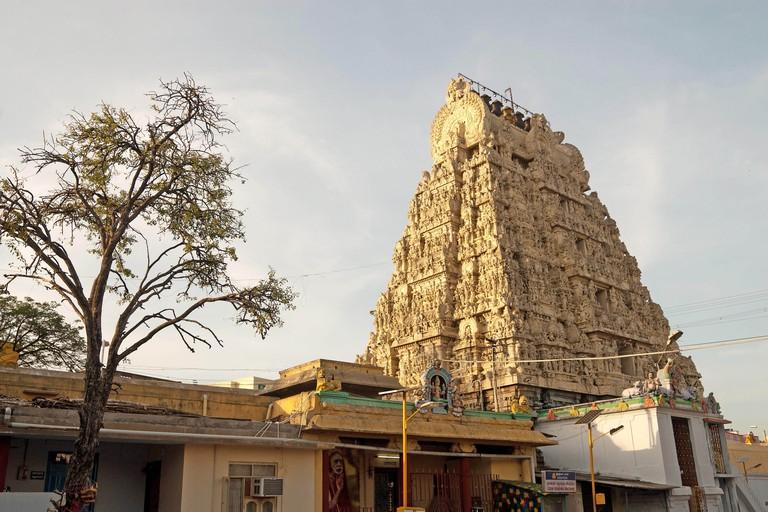 Kamakshi Amman temple, Kanchipuram kancheepuram, Tamil Nadu, India.