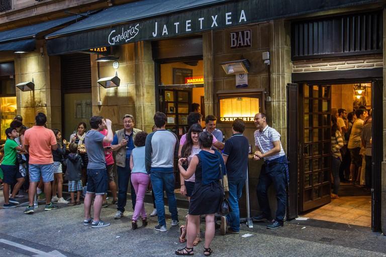Gandarias, pintxos bar