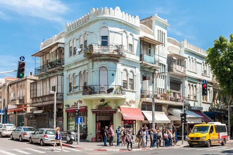 Allenby street, Tel Aviv, Israel.