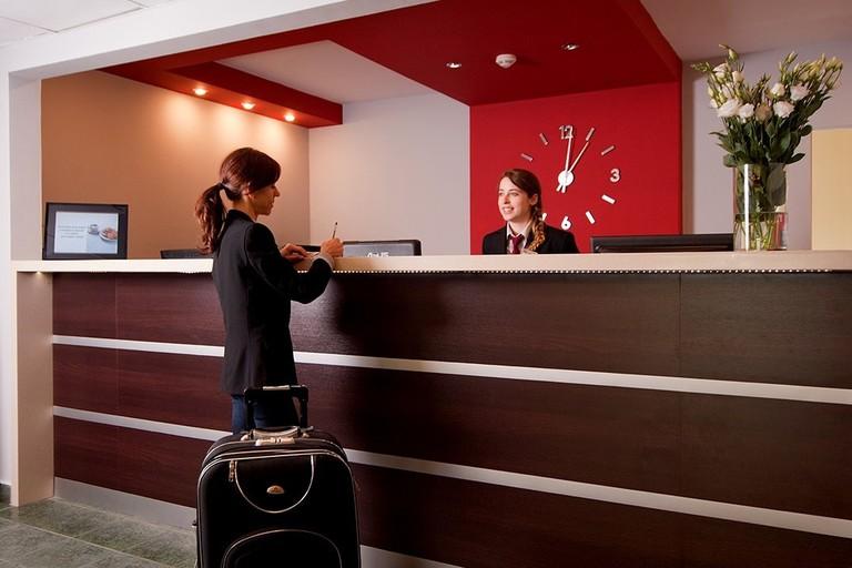 Reception at the Start Hotel Aramis   © Start Hotel Aramis