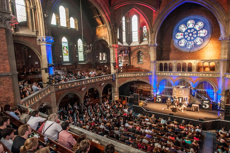 Live at The Chapel at Union Chapel in London.
