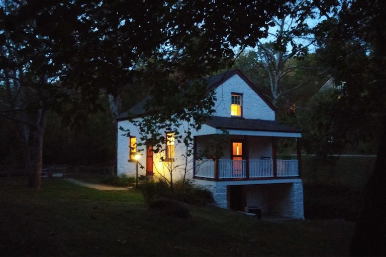 Lockhouse 6 at Night
