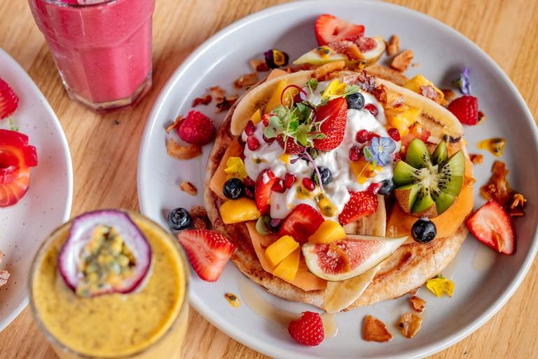 Pancakes at COOH Alexandria © COOH