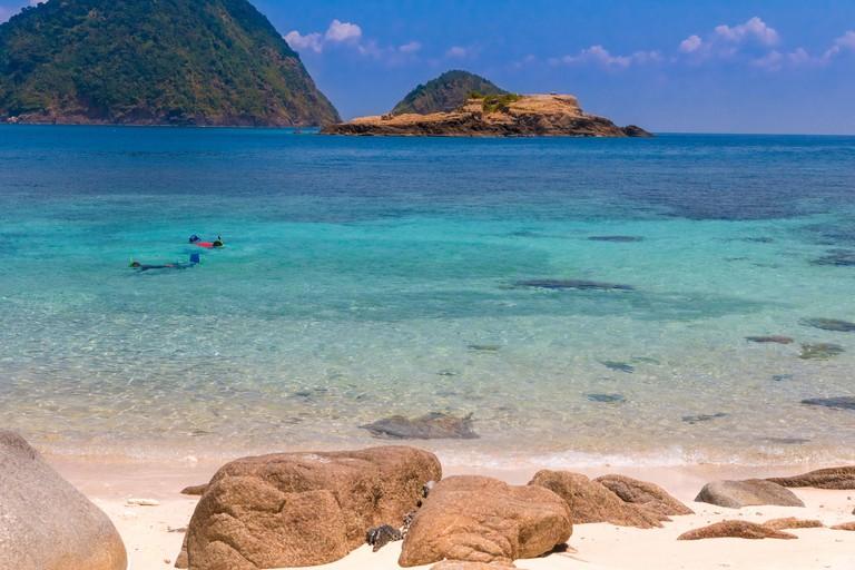 Rawa beach, Malaysia.