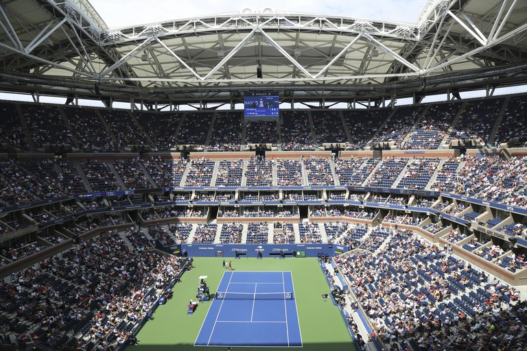 The US Open takes place at the Billie Jean King National Tennis Center