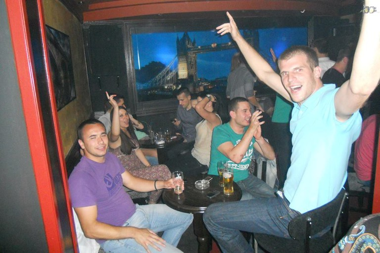 Another busy night at Revolucija in Užice, Serbia