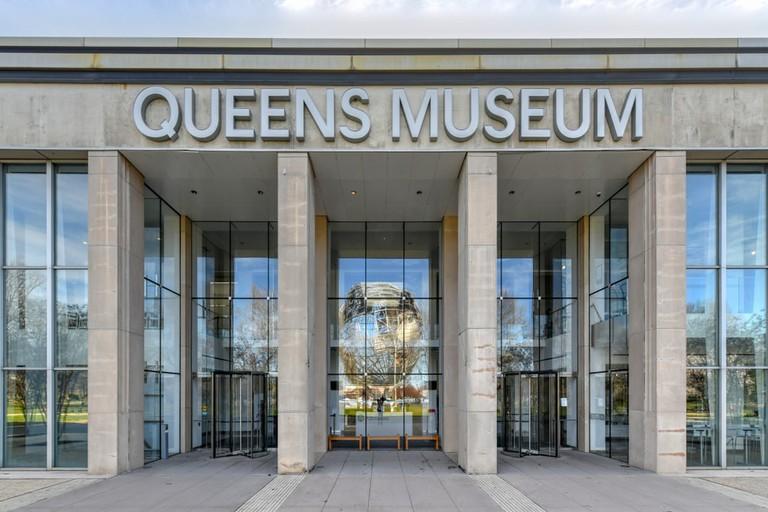Queens Art Museum in Fushing Meadows Corona Park, Queens, New York