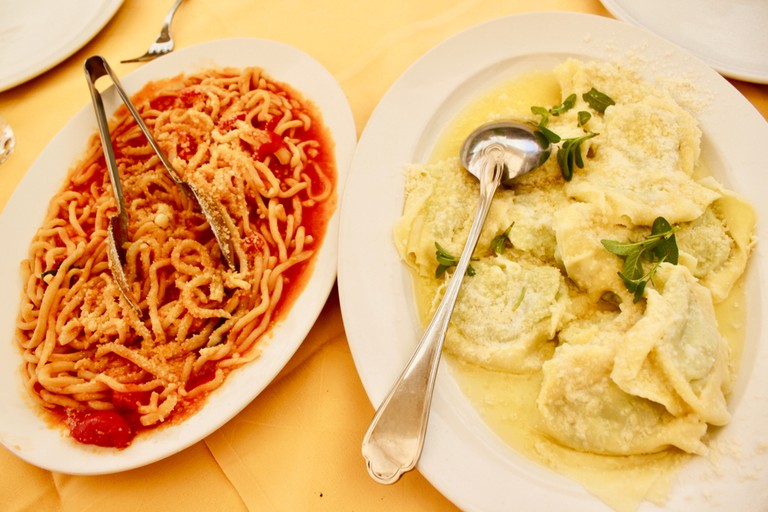 Italian-American food served family style in this classic Queens restaurant.