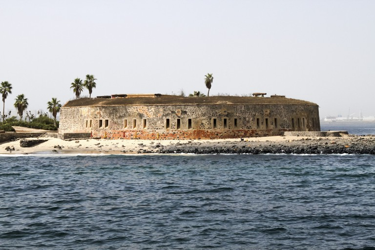 Fort of Goree Island, Senegal, which was the site of one of the earliest European settlements in Western Africa.