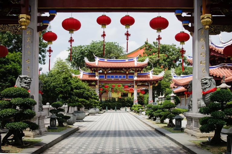 Lian Shan Shuang Lin Monastery in Toa Payoh, Singapore