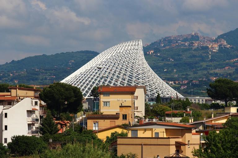 Santiago Calatrava's unfinished Città dello Sport