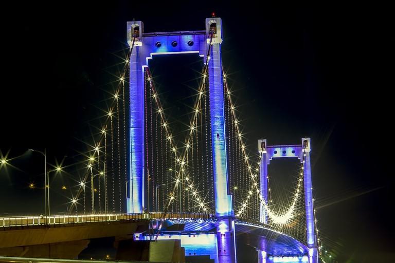 Thuan Phuoc bridge, Da Nang, Vietnam.