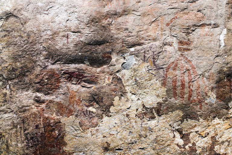 Gua Tambun's somewhat secret neolithic cave art