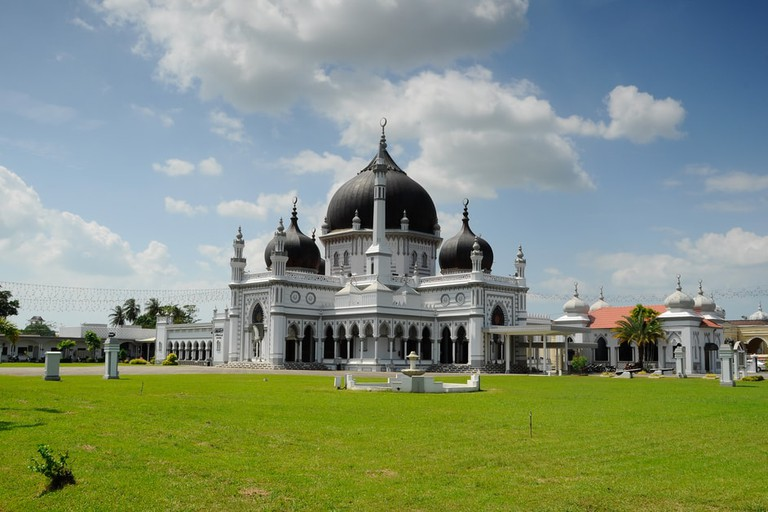 Zahir Mosque at Alor Setar, Kedah, Malaysia.