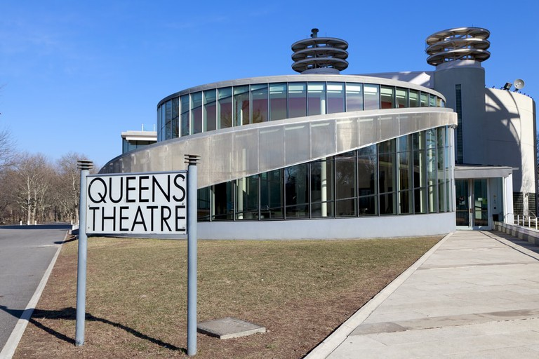 Queens Theatre in Flushing Meadows Corona Park