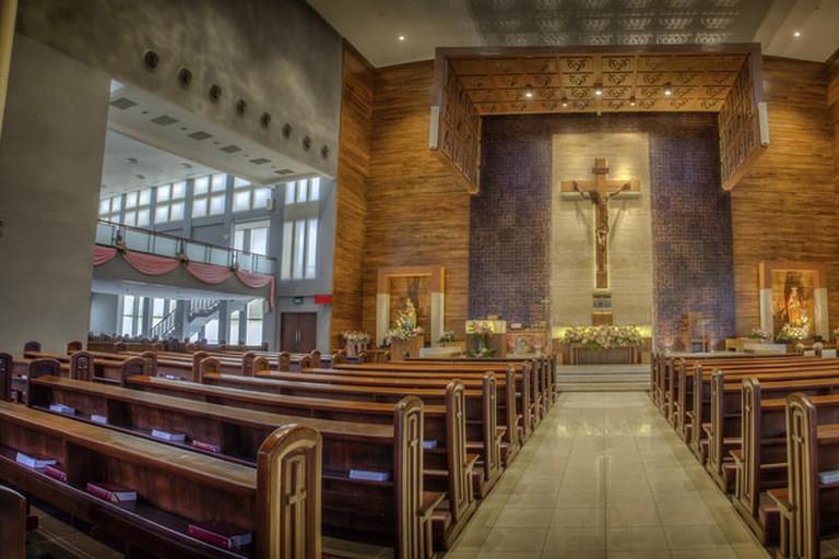 Regina Caeli Catholic Church, Jakarta Indonesia.