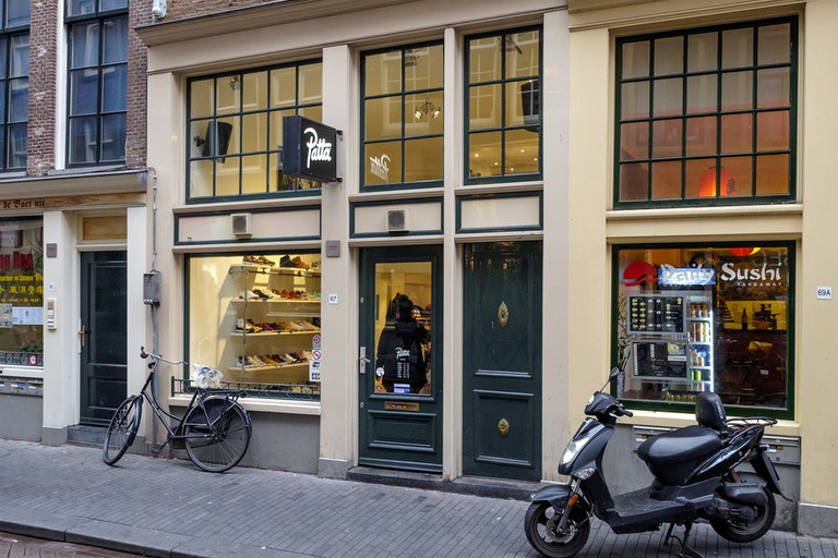 Amsterdam branch of the Patta street wear store