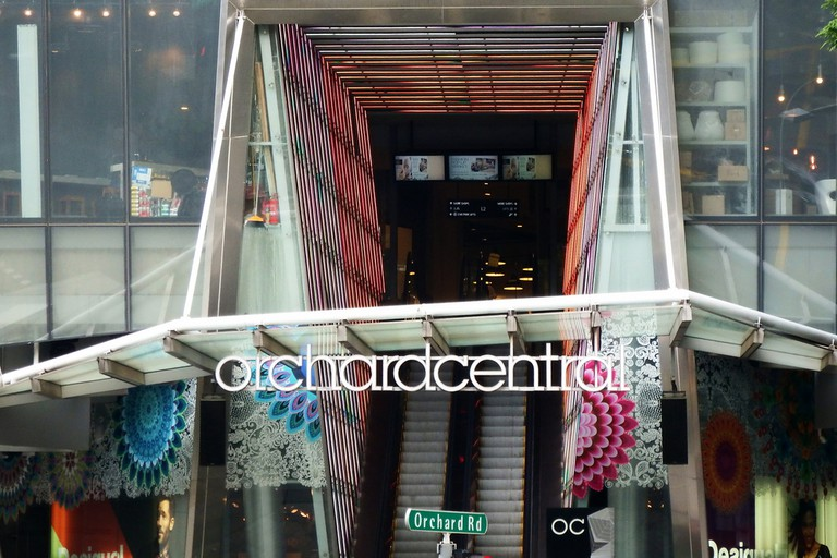 Orchard Central shopping mall, Orchard Road, Singapore